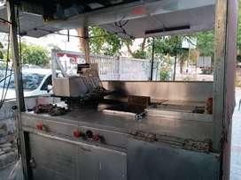 Food Van for commercial