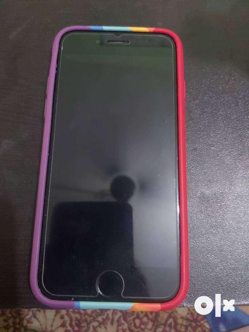 I phone 7 jet black good condition one hand set