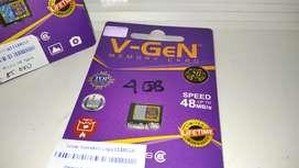 Memori Micro SD Vgen 4GB Original