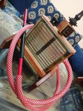 Sheesha Made By wood And glass