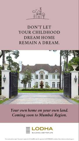 Book your own plot and bungalow at Mumbai
