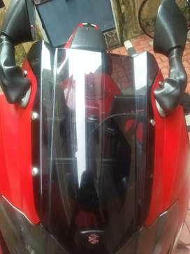 Stock mirror, indicators,stock visor of pulsar 220 for sale