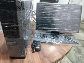 DESKTOP DELL i5 4TH GEN/ 4GB RAM/ 500 GB HDD/ 17.6 LCD DELL MODAL:9020