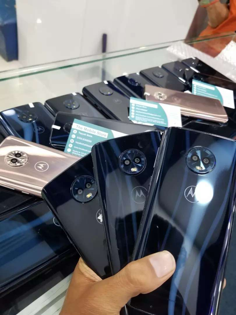 Motorola moto g6 PTA Approved Stock arrived PTA Approved 0