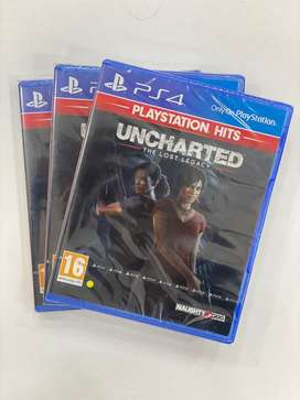 PS4 Game - Uncharted Lost Legacy - New Sealed - DTzone