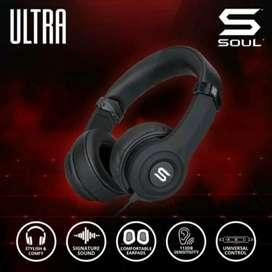 SOUL ULTRA High Definition Dynamic Bass On-Ear Headphone