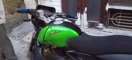 pulsar 150 green modified