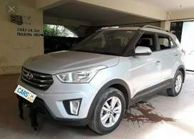 Alloy wheels of creta and touchscreen music system of creta original