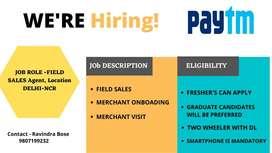 Paytm Sales Executive