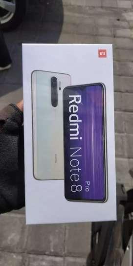 Xiaomi redmi note 8 pro 6/128 Grey NEW garansi resmi TAM 1 tahun