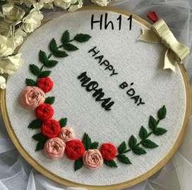 hoop art customise