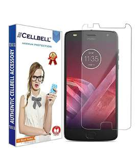Moto z play tempered glass CELLBELL company