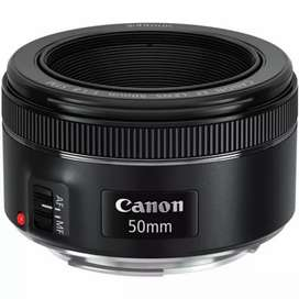 Cannon 700d with 3 lens and 1 battery