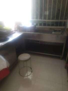 SET FOOD WARMER BAN MARIE(PEMANAS MAKANAN) STAINLESS STEEL 2 SET