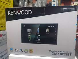 Kenwood Terlaris DMX 1025BT layar 7in Bluetooth MirrorLink Procesor