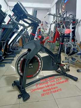 Alat fitnes sepeda multifungsi spining bike
