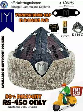 With 4free gifts. Turkish/Ertugrul caps in Russian premium fur.
