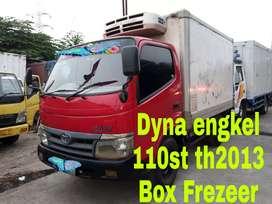 Toyota Dyna engkel box Frezeer th2013 P.stering