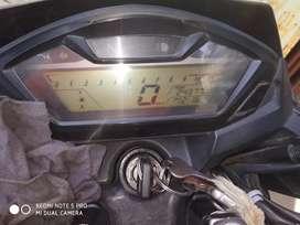 Honda horned bicke km 25000