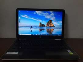 HP Pavilion Notebook i5 7th generation with 8Gb RAM and 1 TB Hard disk