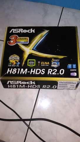 Motherboard AsRock H81 HDS hdmi