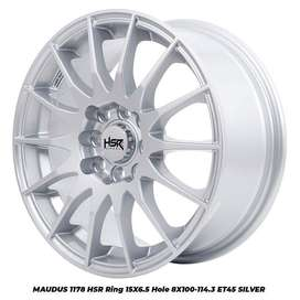 Velg Mobil R15 HSR vios, Corolla, Freed, Swift, Ignis, Brio, Jazz, dll