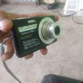 kamera sony cybershot hd movie 720p
