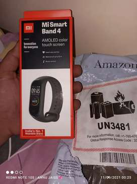 Mi band 4 for. New best condition