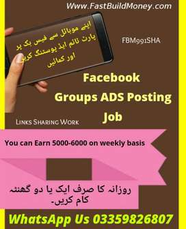 Earn Money by posting Ad