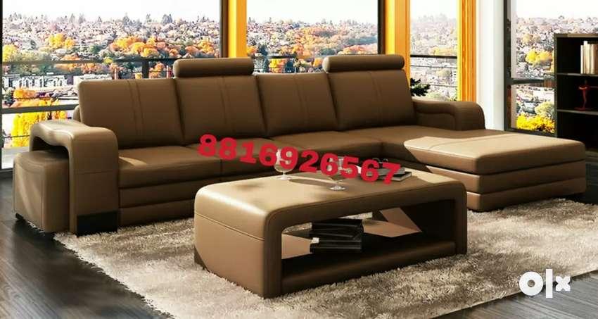 Sofa set with table 0