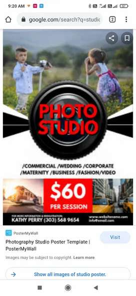Staff needed for photo studio and gift shop