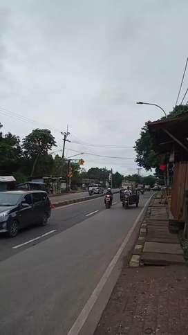 Dijual Tanah Strategis Luas 12ha di Pinggir Jalan Raya Parung