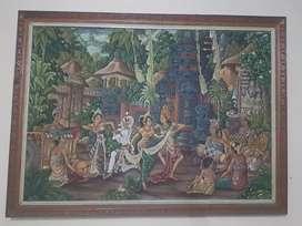 Lukisan khas Bali Wy Lantur
