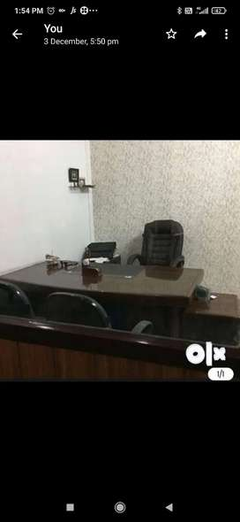 Well furnished and decorated office with AC and WiFi ,