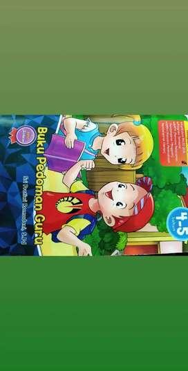 Buku paket TK PAUD full colour RPPM RPPH