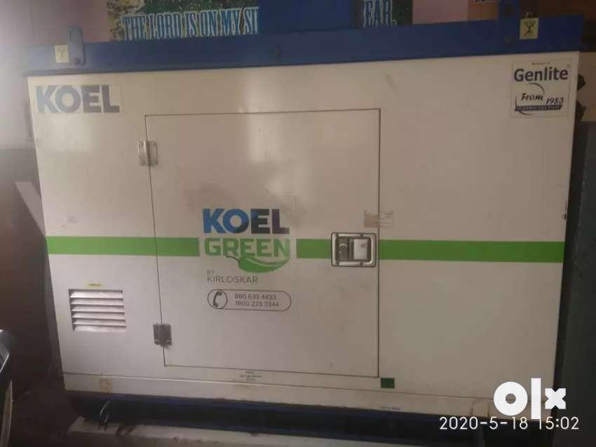15kva kirlosker Generator 2016 model 0