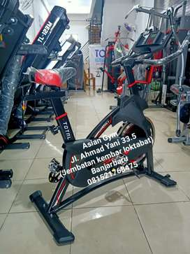 Sepeda spining fitnes ready