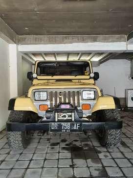 jeep Cj7 kanvas halfdoor