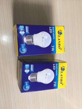 Lampu led kuning Lanbo 3watt