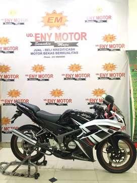 Kawasaki ninja rr 150 cc tahun 2015 pmk 2016