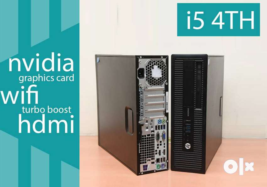 1 YEAR WARRANTY - HP CPU - i5 4TH GEN - RAM 6GB - HOME DELIVERY - HDMI 0