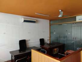 1500 sq ft with 20 to 30 work stations fully furnished office for rent