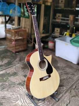 Gitar akustik elektrik gitar lancip pikguard