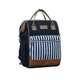 Dialogue Baby Moms Bag Strip Series diapers bag tas ransel backpack