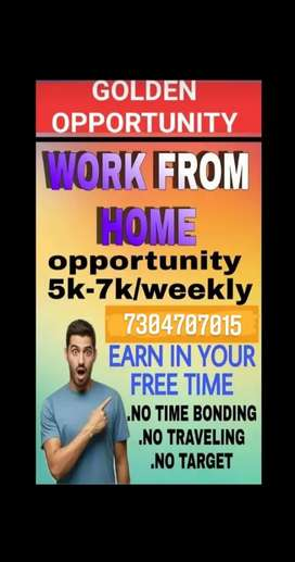 Part time full time work oppurtunity ... Hurry up join us