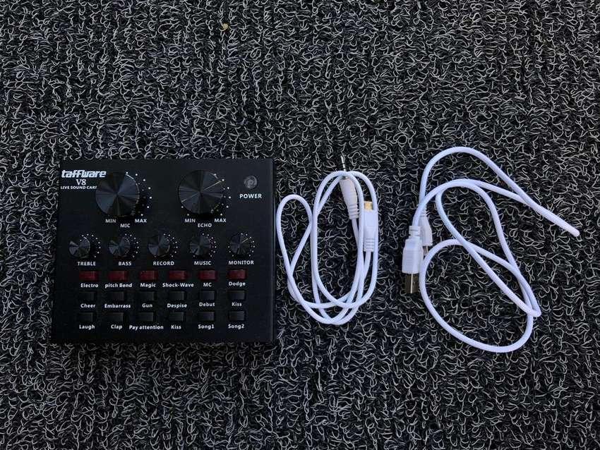 Soundcard V8 Audio Recording 0