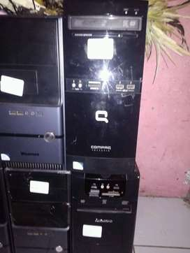 cpu  SERVER UNBK builup cori5,2400, ram8GB  hd500gb., LKP LCD 17'