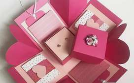 gift boxs card more desings made on order