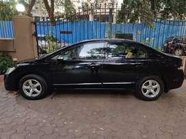 Black Honda Civic extreme good condition