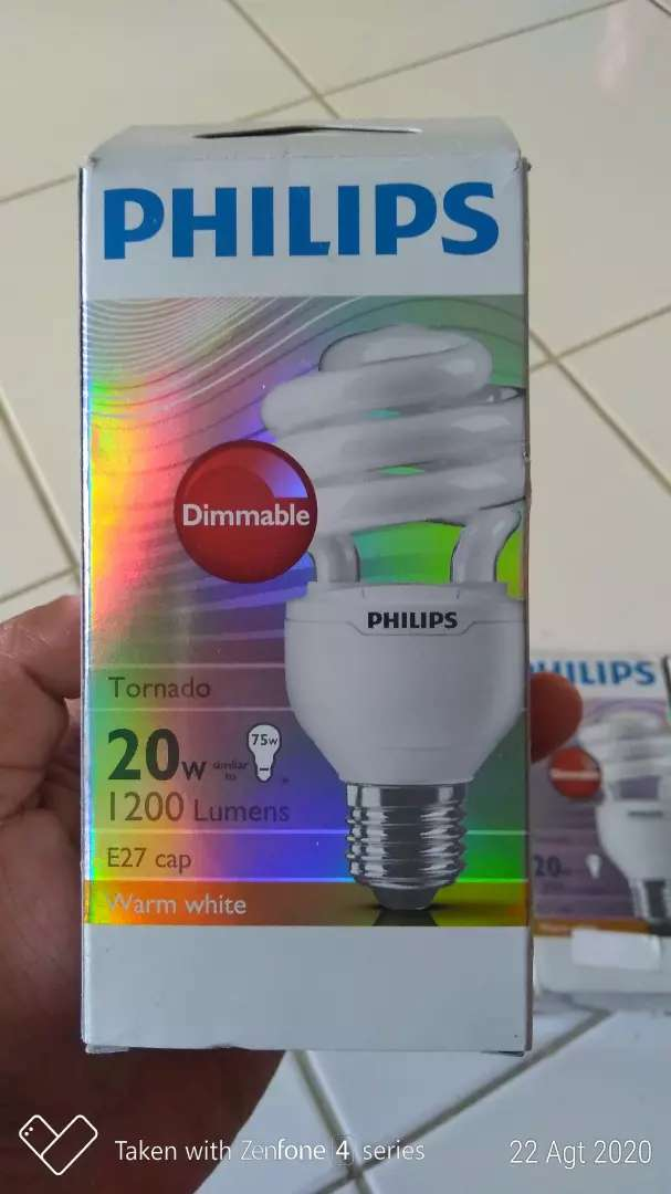 Lampu philips dimmable 0